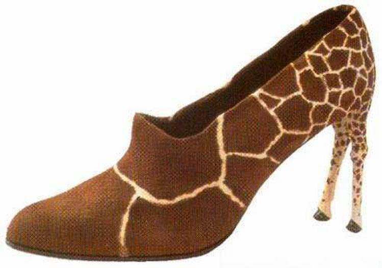 Girafsko med to ben