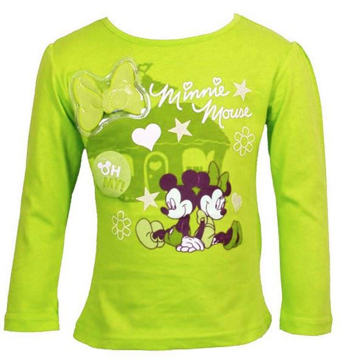 T-shirt med Minnie Mouse
